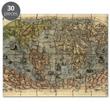 16th century world map Puzzle