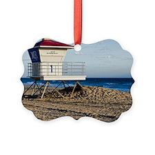 Scenic HDR Huntington Beach  Life Ornament