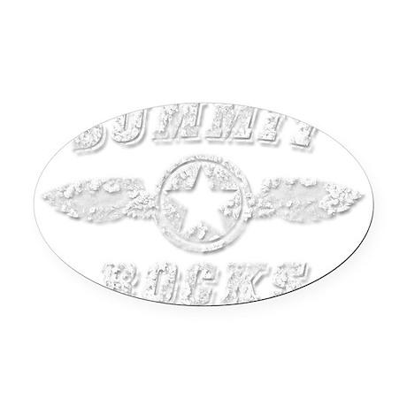 SUMMIT ROCKS Oval Car Magnet