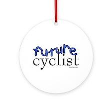 Future Cyclist Ornament (Round)