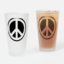 World Peace Drinking Glass