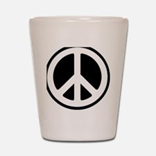 World Peace Shot Glass