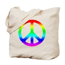 World Peace Ranbow Tote Bag