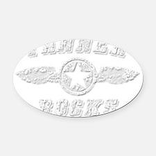 TANNER ROCKS Oval Car Magnet