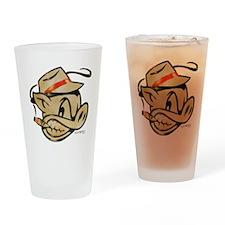 Smokin Pig by Elliott Mattice Drinking Glass