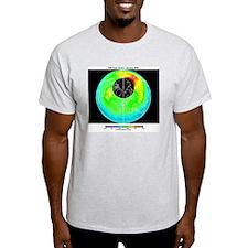 Arctic ozone distribution T-Shirt