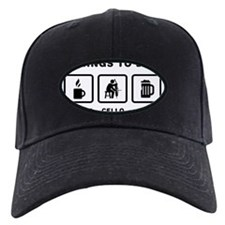 Cello-Player-ABH1 Baseball Hat