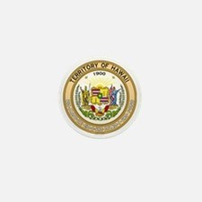 Seal of Hawaii 1898-1959 Mini Button