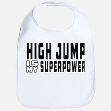 High Jump Is My Superpower Bib