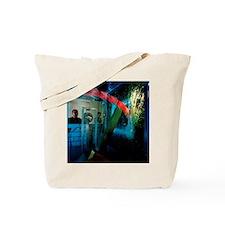 Bulletproof glass Tote Bag