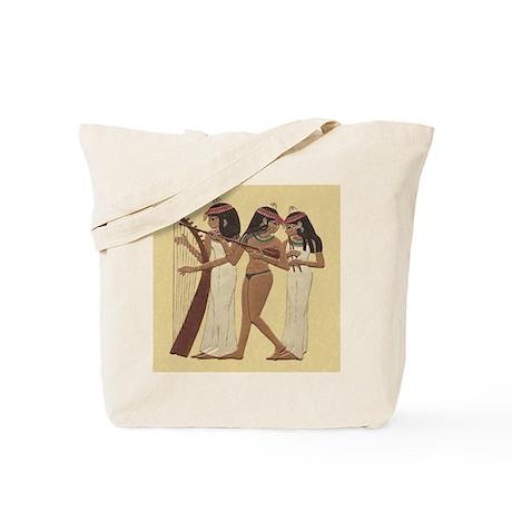 Egyptian Musicians_ Tote Bag