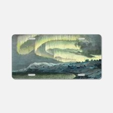 Aurora observations, 1839 Aluminum License Plate