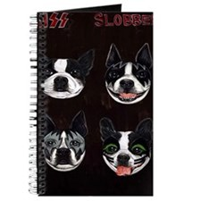 Boston Terriers as KISS Slobbery Journal