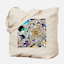 Ammonite fossil, thin section Tote Bag