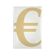 € EURO Rectangle Magnet