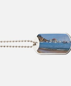 Avalon Harbor Catalina Island Dog Tags