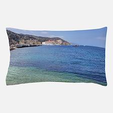 Avalon Harbor Catalina Island Pillow Case