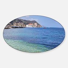 Avalon Harbor Catalina Island Decal