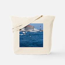 Avalon Harbor Catalina Island Tote Bag