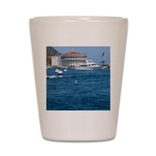 Avalon Harbor Catalina Island Shot Glass