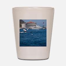 Avalon Harbor Catalina Island Shot Glass
