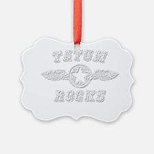 TATUM ROCKS Ornament