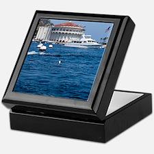 Avalon Harbor Catalina Island Keepsake Box