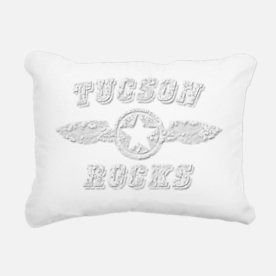 TUCSON ROCKS Rectangular Canvas Pillow