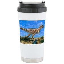 Artwork of a Tyrannosau Travel Coffee Mug