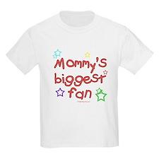 Mommy's Biggest Fan Kids T-Shirt