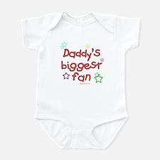 Daddy's Biggest Fan Infant Bodysuit