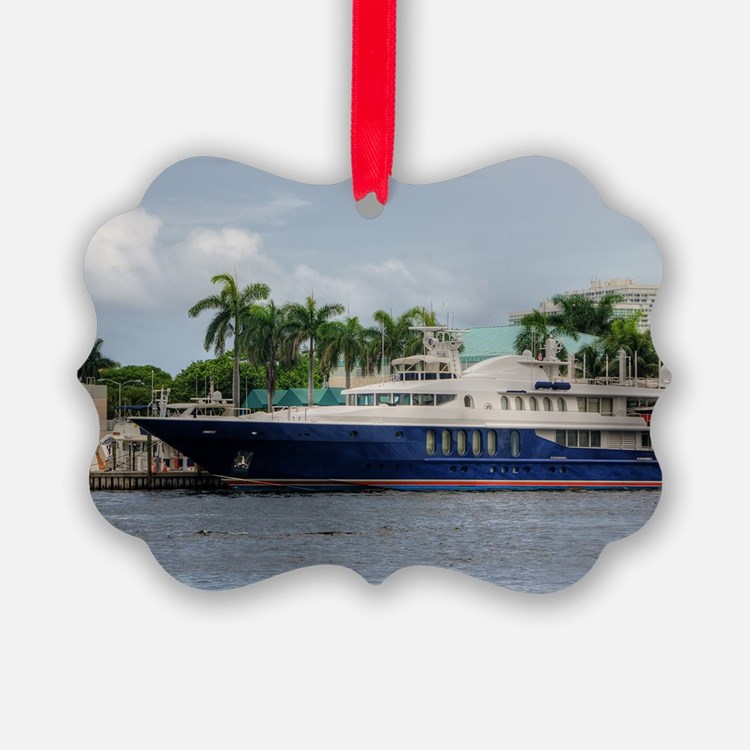 Mega Yacht Ornament