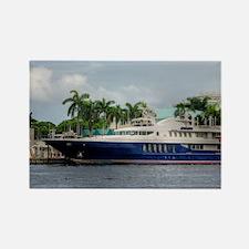 Mega Yacht Rectangle Magnet