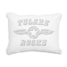 TULARE ROCKS Rectangular Canvas Pillow