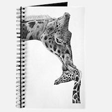 Giraffe and Calf iPad Mini Journal