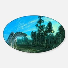 Artwork of a Maiasaura dinosaur Decal