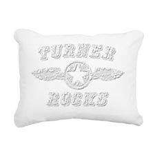 TURNER ROCKS Rectangular Canvas Pillow