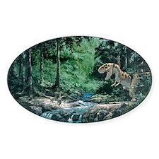 Artwork of a Tyrannosaurus rex dino Decal