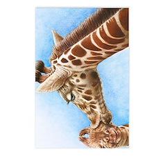 Giraffe and Calf Incredib Postcards (Package of 8)