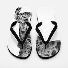Giraffe and Calf Twin Duvet Flip Flops