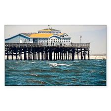 HDR Seal Beach Pier Decal