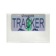 Oregon Tracker Rectangle Magnet