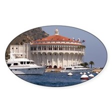 Avalon Harbor Catalina Island Decal