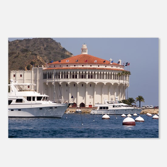 Avalon Harbor Catalina Is Postcards (Package of 8)