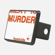 Meat is murder Hitch Cover