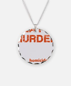 Meat is murder Necklace