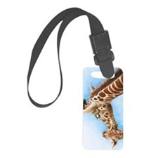Giraffe and Calf Galaxy 2 Case Luggage Tag