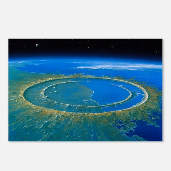 Artwork showing Chicxulub Postcards (Package of 8)