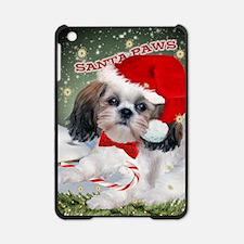 Shih Tzu SANTA PAWS card copy iPad Mini Case