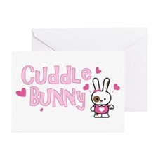 Cuddle Bunny Greeting Cards (Pk of 10)